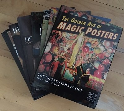 Potter and Potter Auction Catalog Lot (used) by Gabe Fajuri