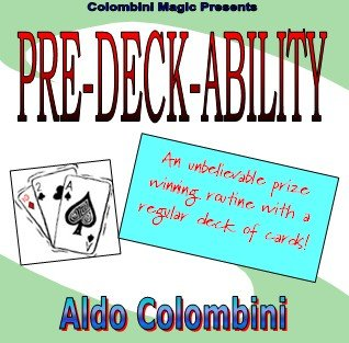 Pre-Deck-Ability by Aldo Colombini