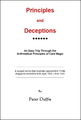 Principles and Deceptions (Duffie) by Peter Duffie
