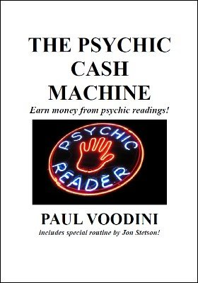 The Psychic Cash Machine by Paul Voodini