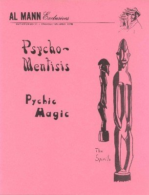 Psycho-Mentisis (for resale) by Al Mann