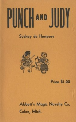Punch and Judy by Sydney de Hempsey