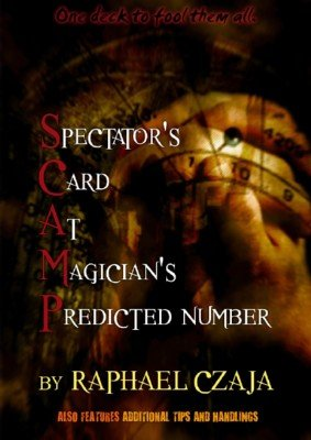 SCAMP: Spectator's Card At Magician's Predicted Number by Raphaël Czaja
