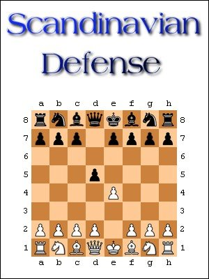 Scandinavian Defense: A Complete Chess Opening Repertoire Agains 1.e4 by Zhigen Lin