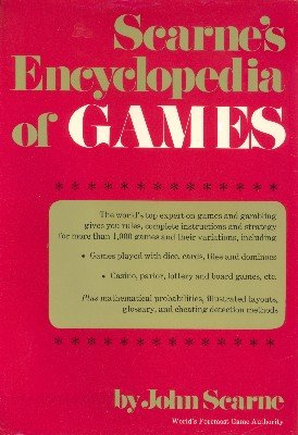 Scarne's Encyclopedia of Games by John Scarne