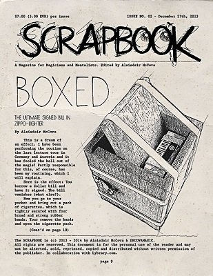 Scrapbook Issue 2 by Alexander de Cova