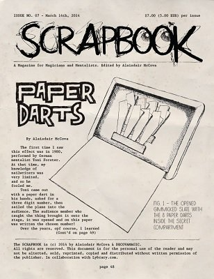 Scrapbook Issue 7 by Alexander de Cova