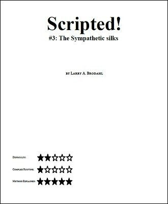 Scripted #3: Sympathetic Silks by Larry Brodahl