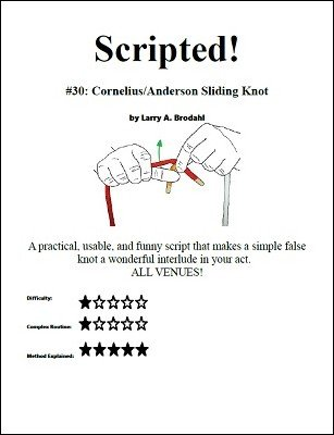 Scripted #30: Cornelius/Anderson Sliding Knot by Larry Brodahl