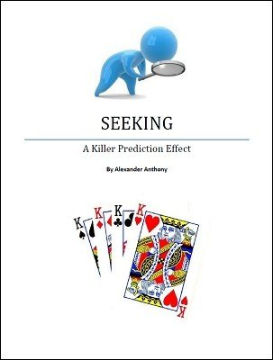 Seeking: a triple prediction by Alexander Anthony