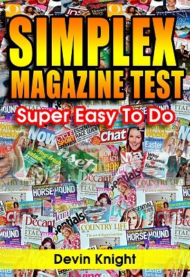 Simplex Magazine Test by Devin Knight