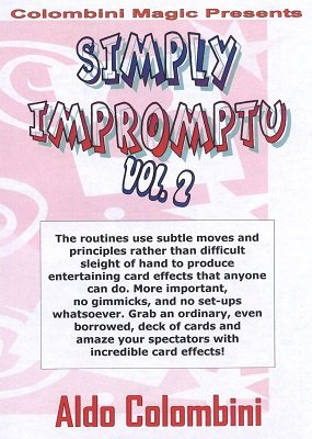 Simply Impromptu Volume 2 by Aldo Colombini