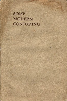 Some Modern Conjuring (softcover) by Donald Holmes