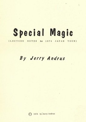 Special Magic by Jerry Andrus
