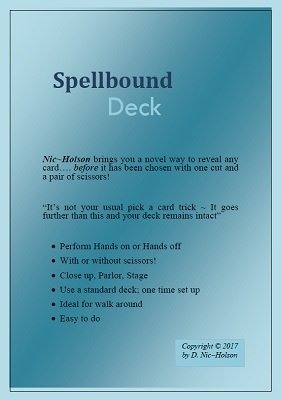 Spellbound Deck by Nic Holson