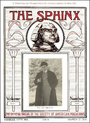 The Sphinx Volume 17 (Mar 1918 - Feb 1919) by Albert M. Wilson