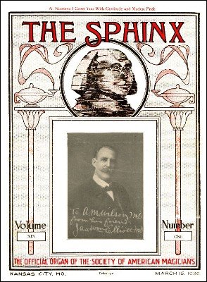 The Sphinx Volume 19 (Mar 1920 - Feb 1921) by Albert M. Wilson