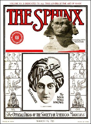 The Sphinx Volume 20 (Mar 1921 - Feb 1922) by Albert M. Wilson