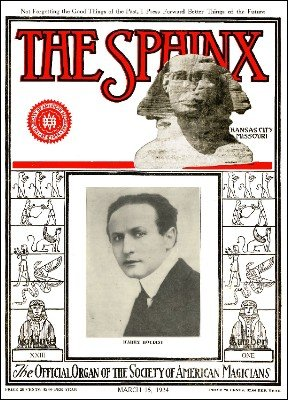 The Sphinx Volume 23 (Mar 1924 - Feb 1925) by Albert M. Wilson