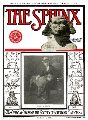 The Sphinx Volume 24 (Mar 1925 - Feb 1926) by Albert M. Wilson