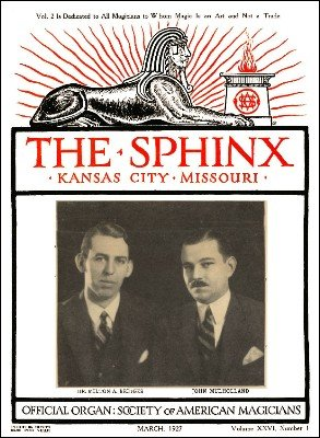 The Sphinx Volume 26 (Mar 1927 - Feb 1928) by Albert M. Wilson