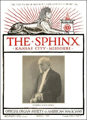 The Sphinx Volume 28 (Mar 1929 - Feb 1930) by Albert M. Wilson