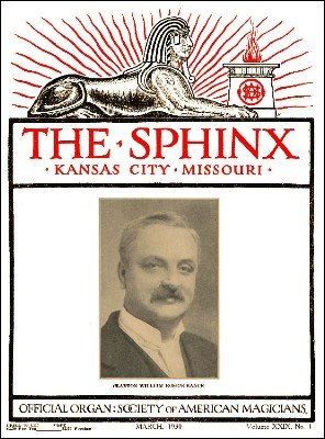 The Sphinx Volume 29 (Mar 1930 - Feb 1931) by John Mulholland