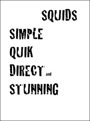 SQUIDS: Simple, Quick, Direct and Stunning by Raymond Doetjes