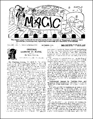 Stanyon's Magic Magazine Volume 13 (Oct 1912 - Sep 1913) by Ellis Stanyon