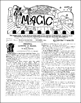 Stanyon's Magic Magazine Volume 14 (Oct 1913 - Sep 1919) by Ellis Stanyon
