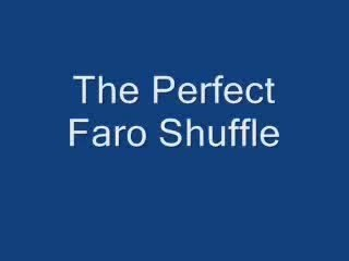 Perfect Table Faro Shuffle by Steven Youell