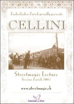 Streetmagic Lecture 2005 DVD (used) by Jim Cellini