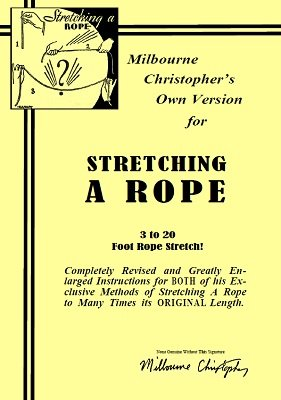 Stretching A Rope by Milbourne Christopher