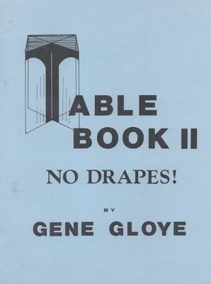 Table Book II by Eugene E. Gloye