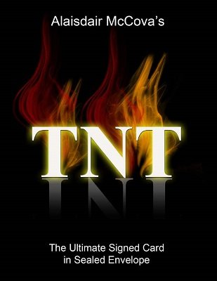 TNT: card in sealed envelope by Alexander de Cova