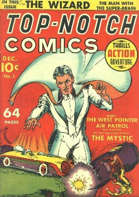 Top-Notch Comics No. 1 (Dec 1939) by Various Authors