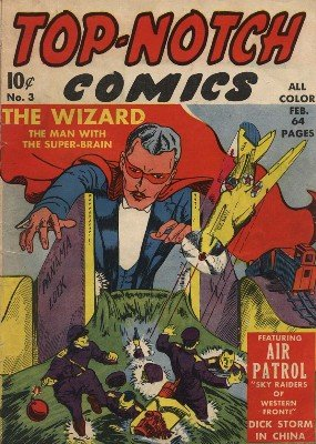 Top-Notch Comics No. 3 (Feb 1940) by Various Authors