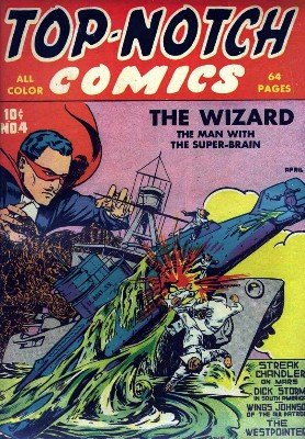 Top-Notch Comics No. 4 (Apr 1940) by Various Authors