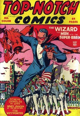 Top-Notch Comics No. 5 (May 1940) by Various Authors