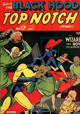 Top-Notch Comics No. 17 (Jul 1941) by Various Authors