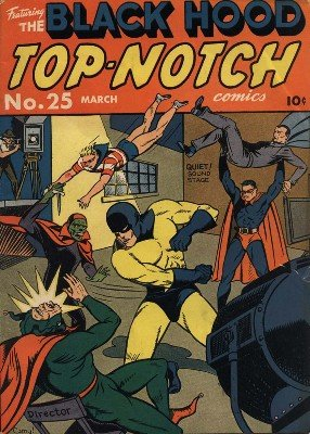 Top-Notch Comics No. 25 (Mar 1942) by Various Authors