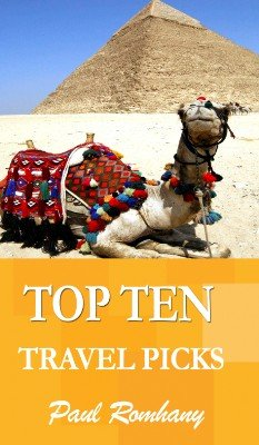 Top Ten Travel Book Test by Paul Romhany