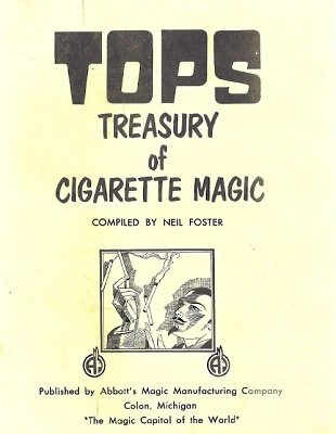Tops Treasury of Cigarette Magic by Neil Foster
