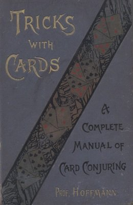 Tricks with Cards (used) by Professor Hoffmann