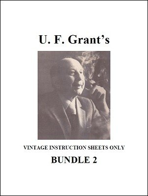 UF Grant Instruction Sheets 2 by Ulysses Frederick Grant