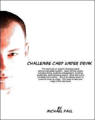 Ultimate Card Under Drink by Michael Paul
