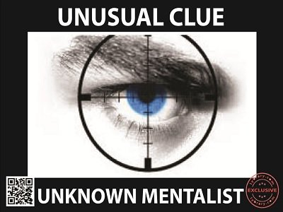 Unusual Clue by Unknown Mentalist