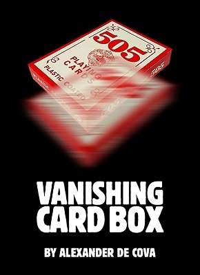 Vanishing Card Box by Alexander de Cova