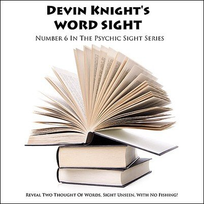 Word Sight by Devin Knight
