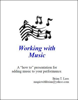 Working with Music by Brian T. Lees